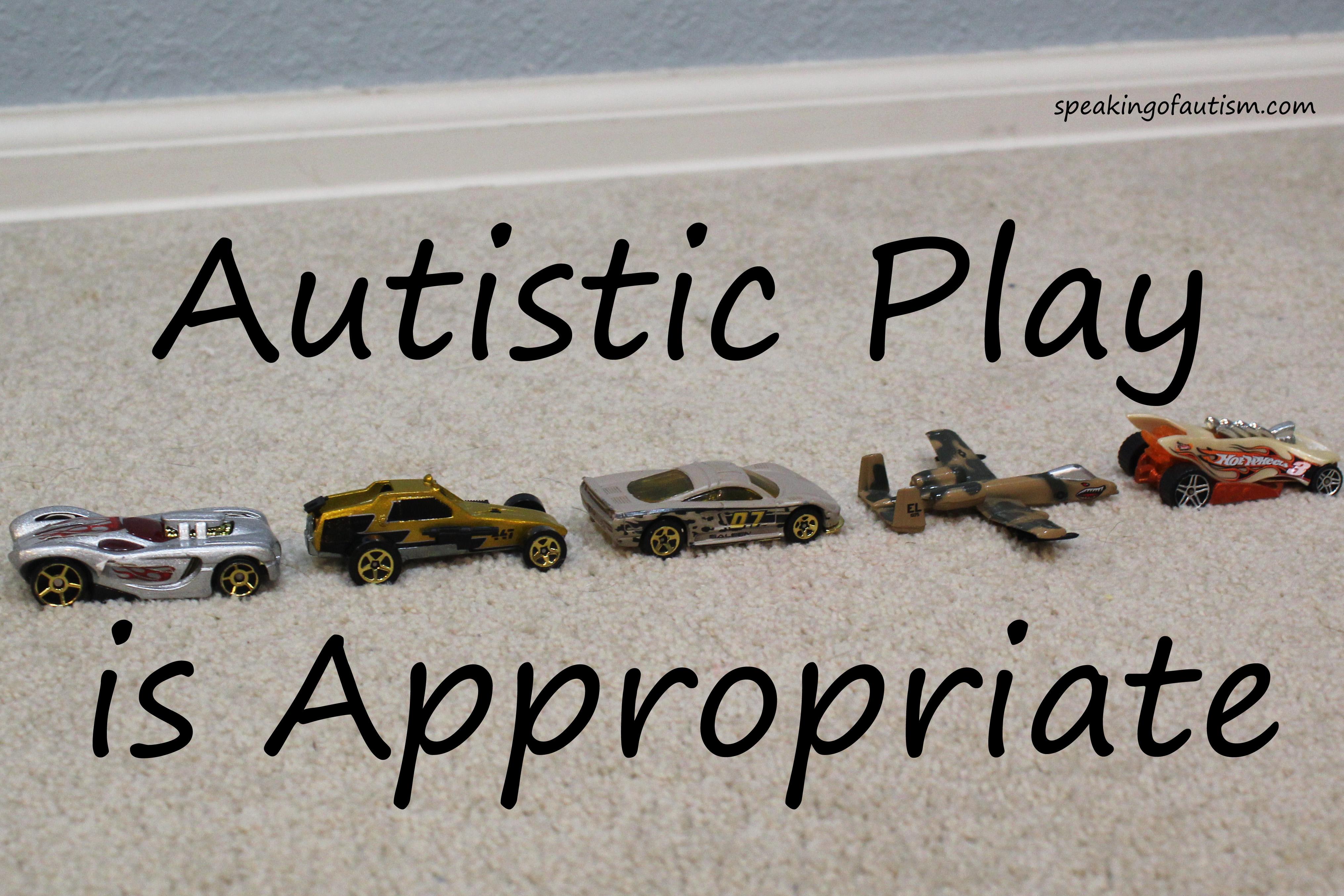 autistic play